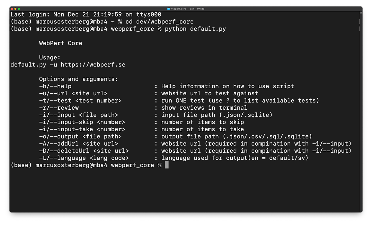 Ny version av Webperf Core - nu med tillgänglighetstest