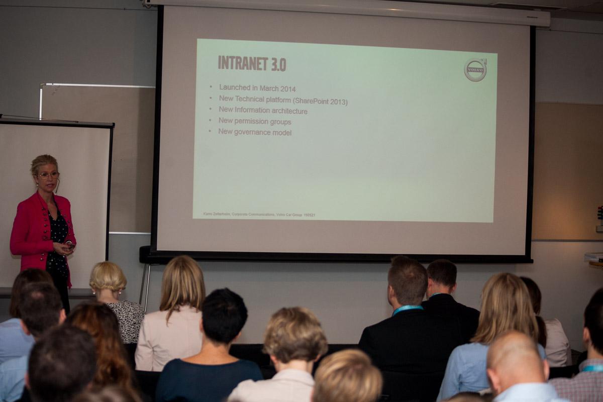 Intranätkonferensen Intranätverk: Göteborg 2015