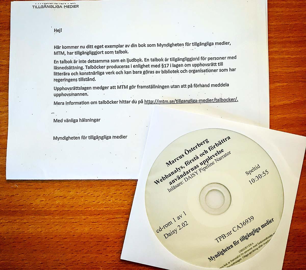 Webbanalys-boken nu som talbok, samt kurslitteratur på Lunds Universitet